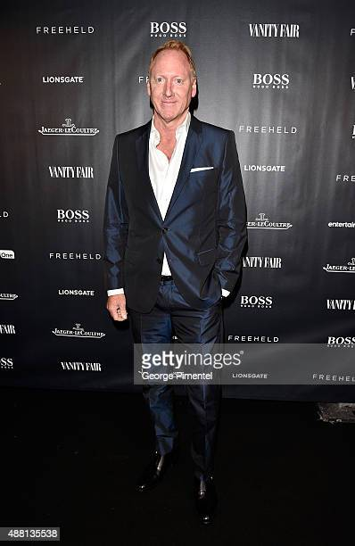 Glen Baxter at the Vanity Fair toast of 'Freeheld' at TIFF 2015 presented by Hugo Boss and supported by JaegerLeCoultre at Montecito Restaurant on...