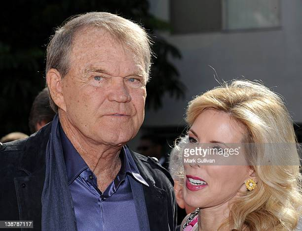 Glen Campbell and Kim Campbell attend The 54th Annual GRAMMY Awards Special Merit Awards Ceremony at The Wilshire Ebell Theatre on February 11 2012...
