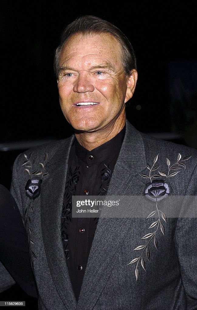Glen Campbell during 2004 Annual Coyote Moon Gala at Museum Of The American West in Los Angeles, California, United States.