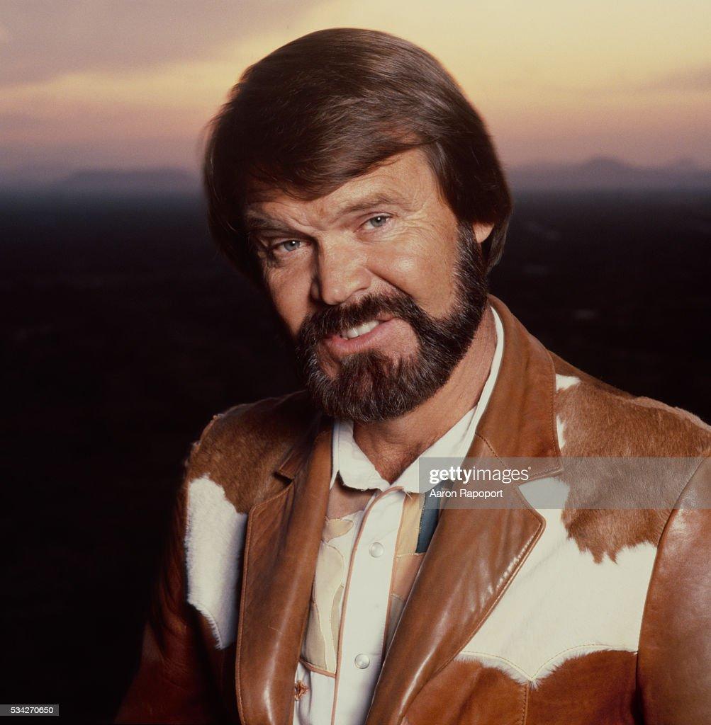 Glen Campbell, guitarist, singer, shot in Las Vegas in 1979.