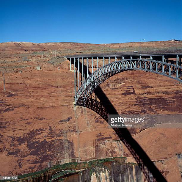 Glen Canyon Dam Bridge, Arizona, Southwest USA