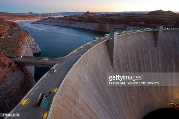Glen Canyon Dam, Lake Powell, Arizona, United States of America