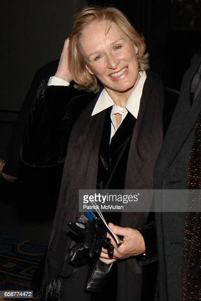 Glen Close Allan Campbell and Lori Kennedy attend The FIDDLER ON THE ROOF After Party at the Marriott Marquis on February 26 2004 in New York City