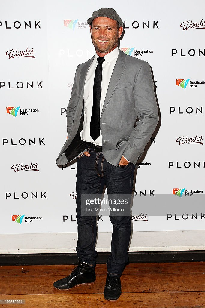 Glen Condie arrives at the PLONK media launch at Palace Verona on February 4, 2014 in Sydney, Australia.