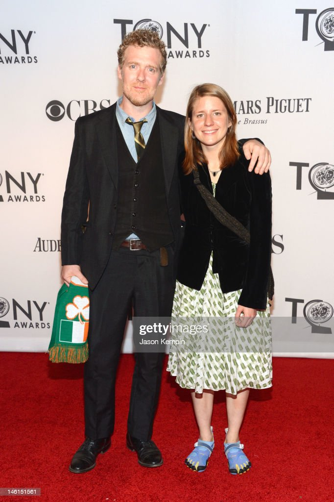 <a gi-track='captionPersonalityLinkClicked' href=/galleries/search?phrase=Glen+Hansard&family=editorial&specificpeople=1279156 ng-click='$event.stopPropagation()'>Glen Hansard</a> and Markéta Irglová attend the 66th Annual Tony Awards at The Beacon Theatre on June 10, 2012 in New York City.