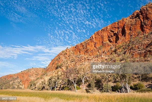 Glen Helen Gorge in Macdonnell Ranges Australia