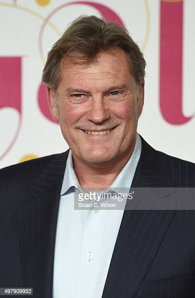 Glen Hoddle attends the ITV Gala at London Palladium on November 19 2015 in London England