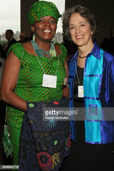 Glen Mabuza and Ruth W Messinger attend AMERICAN JEWISH WORLD SERVICE Presents An Evening with Former President BILL CLINTON at Frederick P Rose Hall...