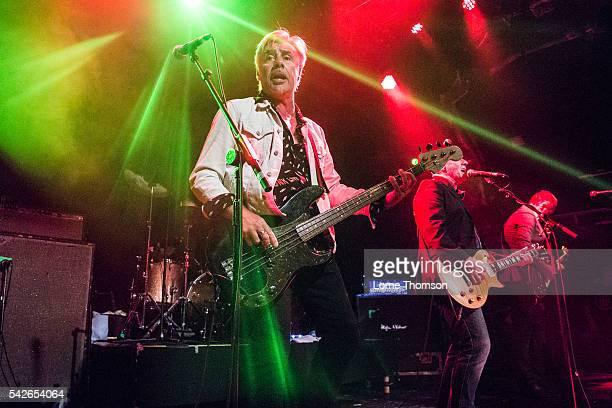 Glen Matlock and Midge Ure of Rich Kids perform at O2 Islington Academy on June 23 2016 in London England