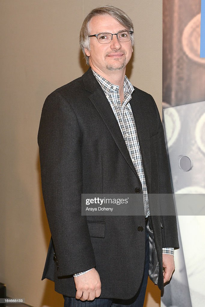 Glen Mazzara attends the WGAW's 2013 TV Staffing Brief - Press Conference on March 26, 2013 in Los Angeles, California.