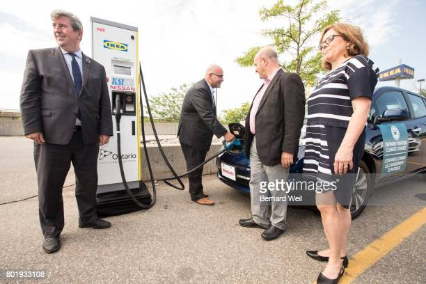 TORONTO ON JULY 13 Glen Murray Minister of Environment and Climate Change Steven Del Duca Minister of Transportation Peter Milczyn MP for...