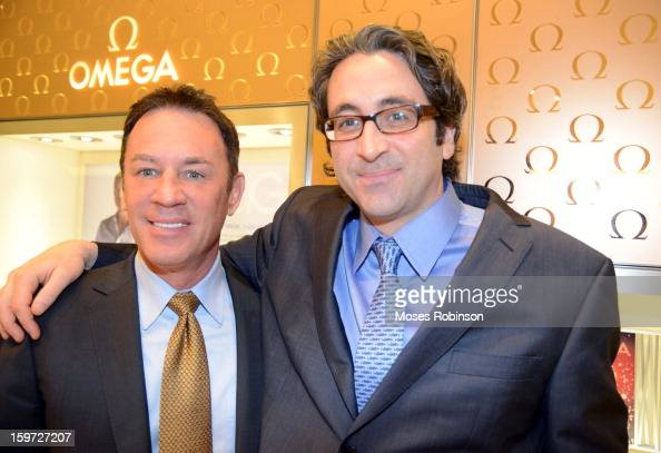 Glen Rink and Marc Yaggi attend the OMEGA boutique opening at Phipps Plaza on January 17 2013 in Atlanta Georgia