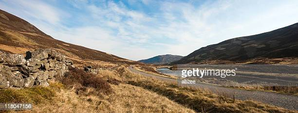 Glen Shee on the Braemar to Spittal of Glenshee road