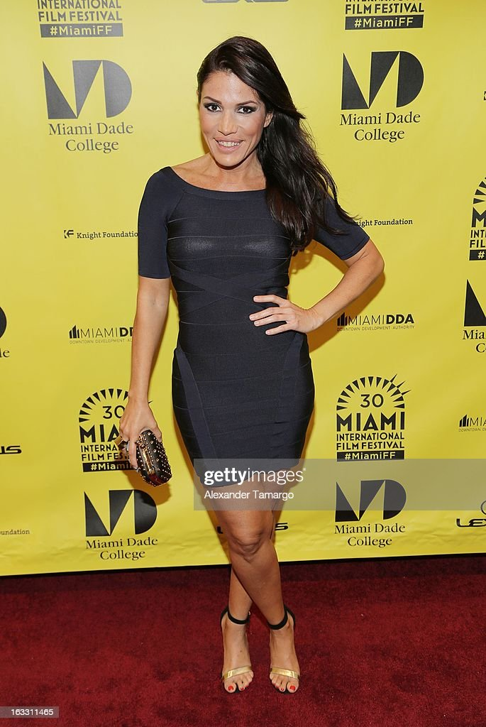Glenda Galeano attends 'Eenie Meenie Miney Moe' Premiere during the 2013 Miami International Film Festival at Gusman Center for the Performing Arts on March 7, 2013 in Miami, Florida.