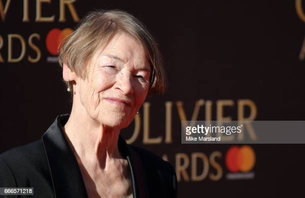 Glenda Jackson attends The Olivier Awards 2017 at Royal Albert Hall on April 9 2017 in London England