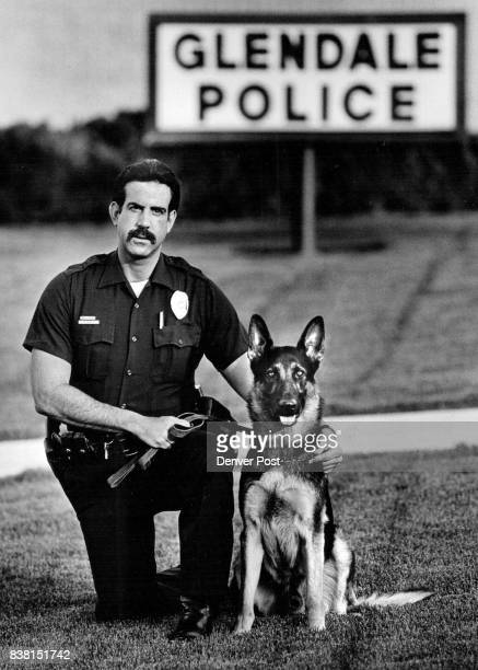 Glendale police officer Lloyd Glass bought and trained his own dog Magnum in hopes that the city will allow him to be a police dog Magnum is a 14...