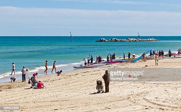 Glenelg beach activity