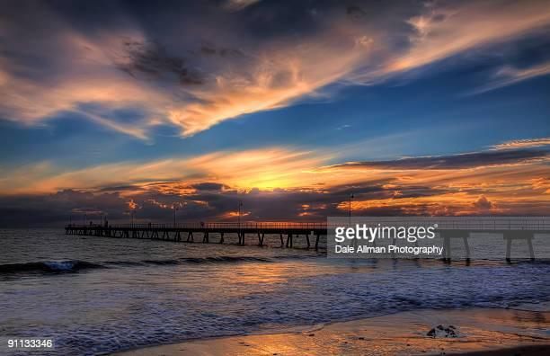 Glenelg Sunset - HDR