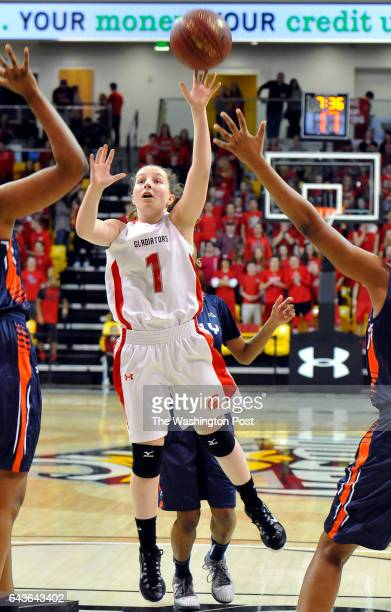 MARCH 12 2016 Glenelg's Jess Foster drive the lane against Poly in the Maryland 3A championship game at Towson University's SECU Arena on March 12...