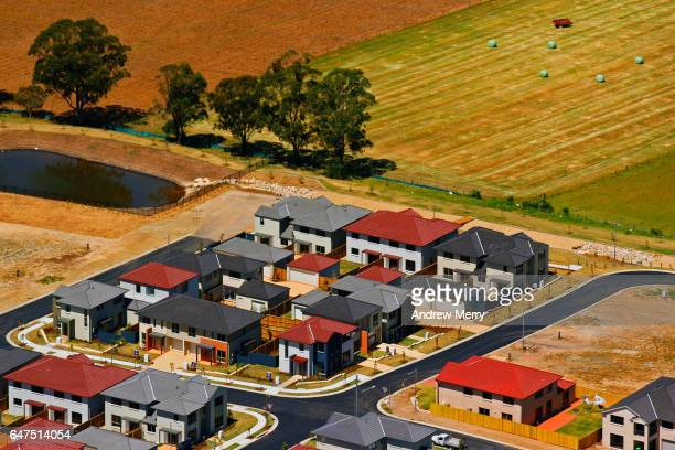 Glenfield, Western Sydney, Aerial Photography