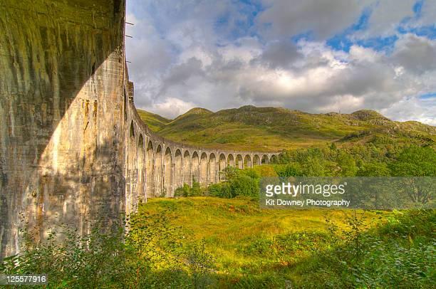 Glenfinnan Viaduct Railway Arches Scotland