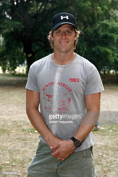 Glenn Archer attends 'The Wind in the Willows' opening night in Melbournes Botanical Gardens on January 9 2007 in Melbourne Australia