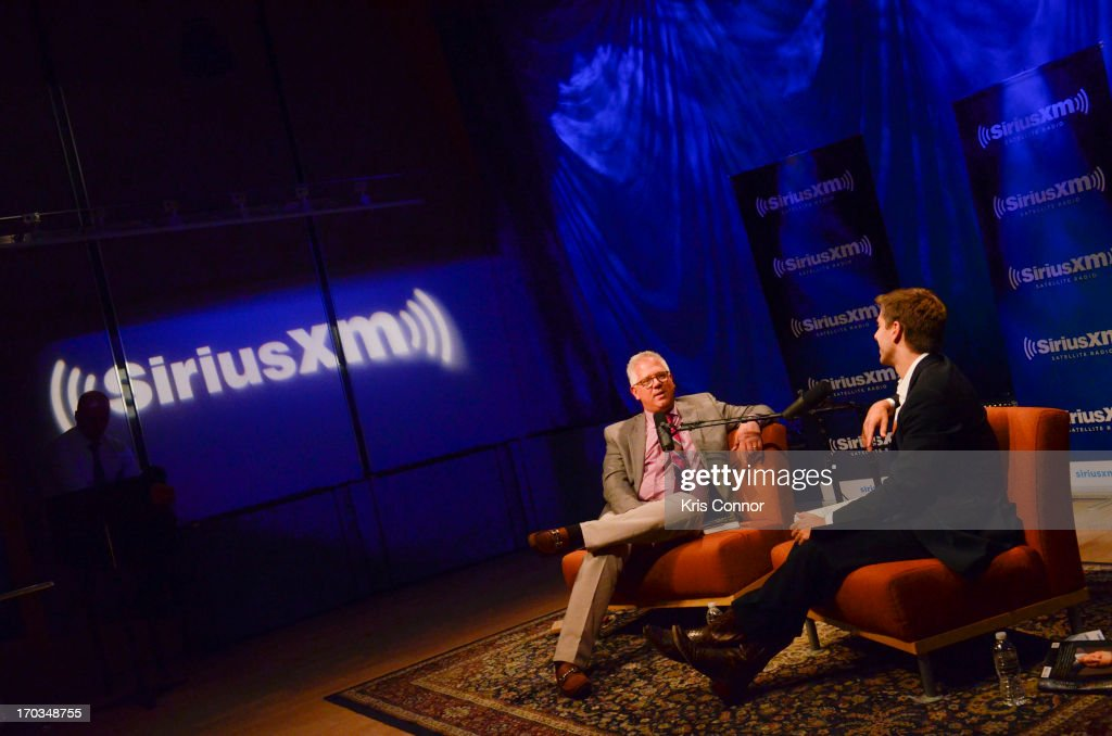"Glenn Beck attends SiriusXM's ""Author Confidential with Glenn Beck"""