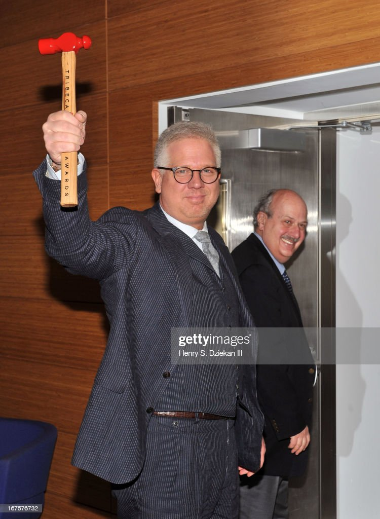 <a gi-track='captionPersonalityLinkClicked' href=/galleries/search?phrase=Glenn+Beck&family=editorial&specificpeople=3267771 ng-click='$event.stopPropagation()'>Glenn Beck</a> attends the Tribeca Disruptive Innovation Awards during the 2013 Tribeca Film Festival at NYU Paulson Auditorium on April 26, 2013 in New York City.