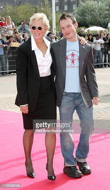 Glenn Close and Chris Terrio during 30th Deauville American Film Festival 'Heights' Premiere at CID in Deauville France