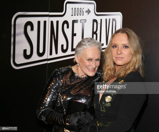Glenn Close and daughter Annie Starke attend the Opening Night After Party for Andrew Lloyd Webber's 'Sunset Boulevard' at the Cipriani on February 9...