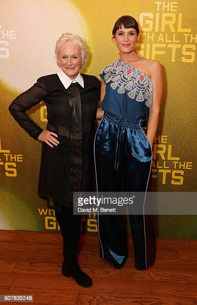 Glenn Close and Gemma Arterton attends a special screening of 'The Girl With All The Gifts' at Vue West End on September 19 2016 in London England
