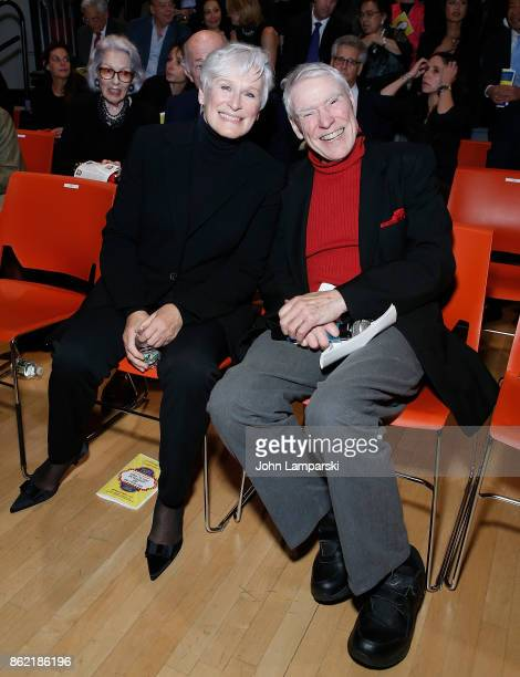 Glenn Close and Jacques d'Amboise attend National Dance Institute Benefit Performance at National Dance Institute Center for Learning the Arts on...