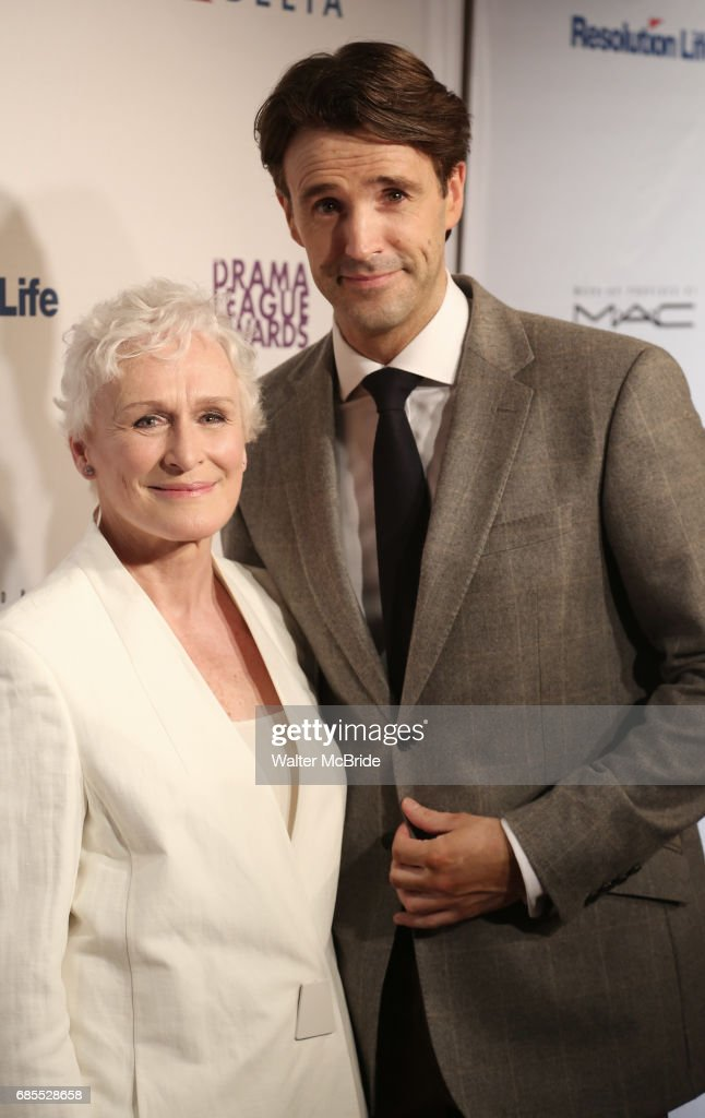Glenn Close and Michael Xavier attend the 83rd Annual Drama League Awards Ceremony at Marriott Marquis Times Square on May 19, 2017 in New York City.
