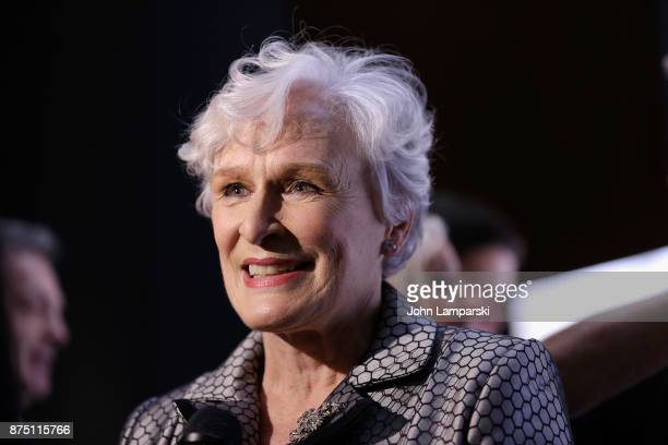 Glenn Close attends 2017 Christopher Dana Reeve Foundation 'A Magical Evening' Gala at The Conrad New York on November 16 2017 in New York City
