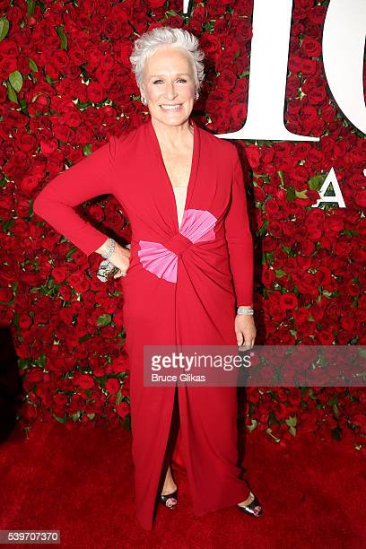 Glenn Close attends 70th Annual Tony Awards Arrivals at Beacon Theatre on June 12 2016 in New York City