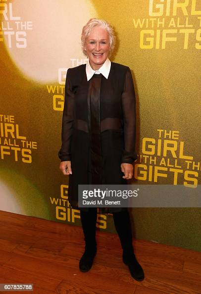 Glenn Close attends a special screening of 'The Girl With All The Gifts' at Vue West End on September 19 2016 in London England