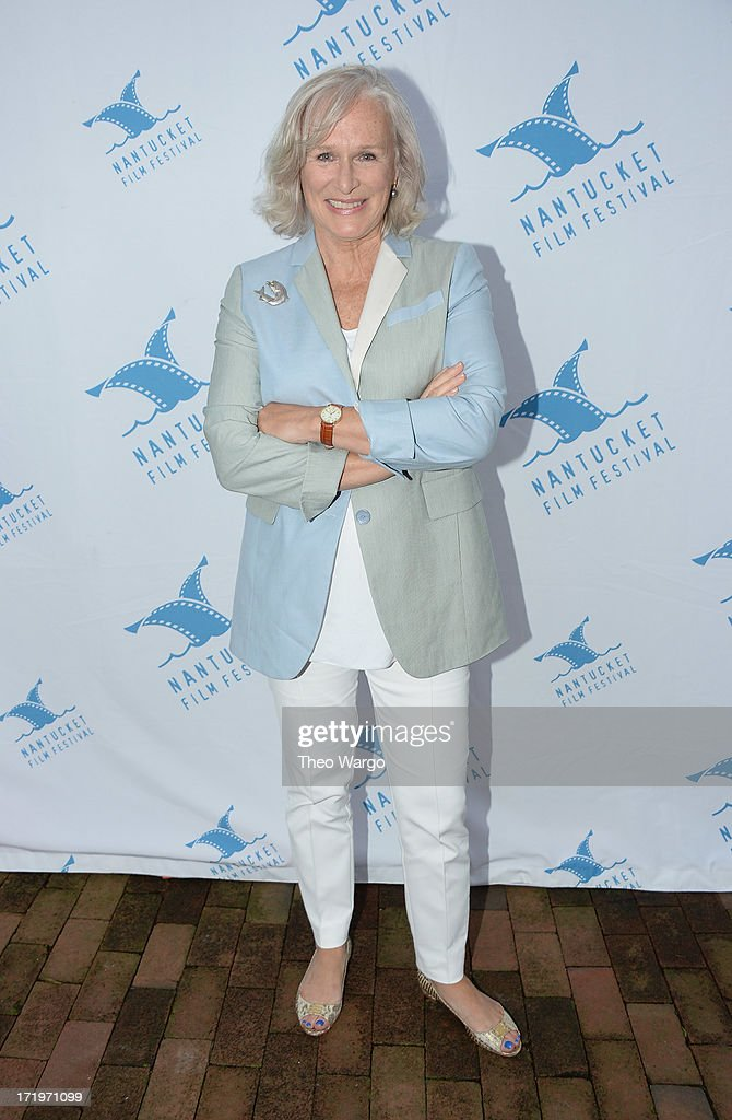<a gi-track='captionPersonalityLinkClicked' href=/galleries/search?phrase=Glenn+Close&family=editorial&specificpeople=201870 ng-click='$event.stopPropagation()'>Glenn Close</a> attends The 18th Annual Nantucket Film Festival on June 29, 2013 in Nantucket, Massachusetts.