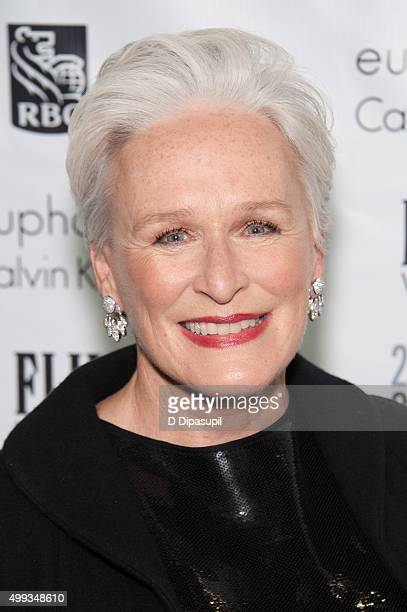 Glenn Close attends the 25th Annual Gotham Independent Film Awards at Cipriani Wall Street on November 30 2015 in New York City