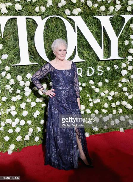 Glenn Close attends the 71st Annual Tony Awards at Radio City Music Hall on June 11 2017 in New York City