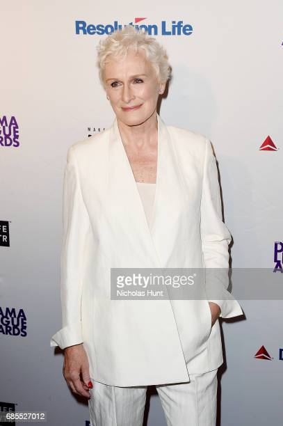 Glenn Close attends the 83rd Annual Drama League Awards Ceremony and Luncheonat Marriott Marquis Times Square on May 19 2017 in New York City