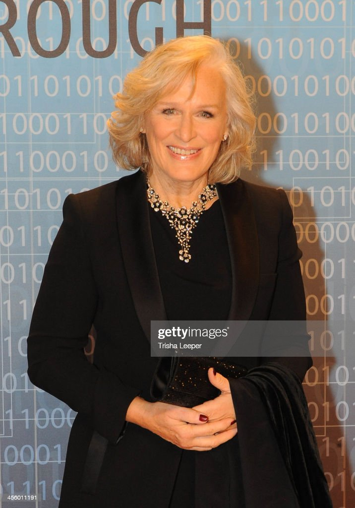 <a gi-track='captionPersonalityLinkClicked' href=/galleries/search?phrase=Glenn+Close&family=editorial&specificpeople=201870 ng-click='$event.stopPropagation()'>Glenn Close</a> attends the Breakthrough Prize Inaugural Ceremony at NASA Ames Research Center on December 12, 2013 in Mountain View, California.