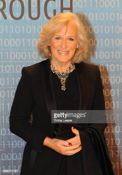 Glenn Close attends the Breakthrough Prize Inaugural Ceremony at NASA Ames Research Center on December 12 2013 in Mountain View California