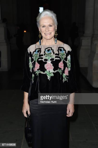 Glenn Close attends the Elton John AIDS Foundation 25th Year And Honors Founder Sir Elton John During New York Fall Gala at Cathedral of St John the...