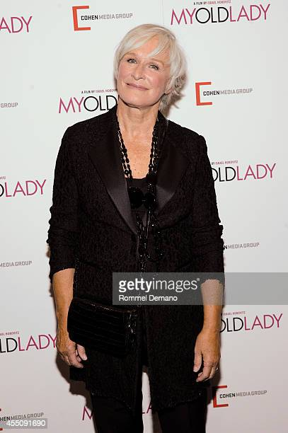 Glenn Close attends the 'My Old Lady' New York Premiere at Museum of Modern Art on September 9 2014 in New York City