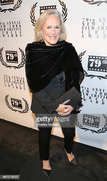 Glenn Close attends the New York Film Critics Circle 2013 Awards Ceremon at The Edison Ballroom on January 6 2014 in New York City