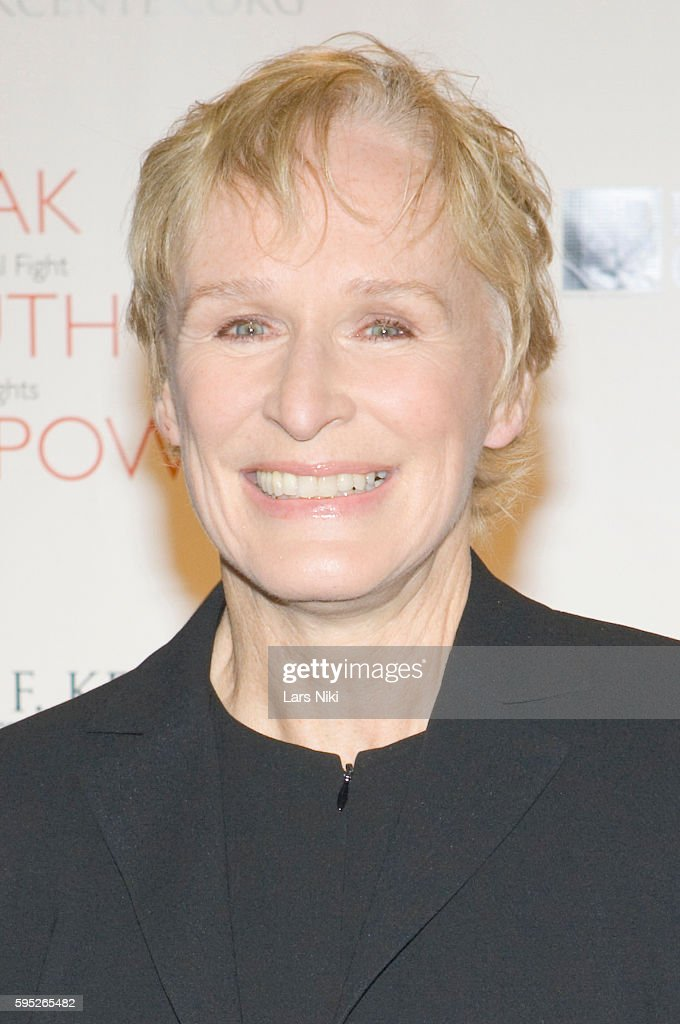 Glenn Close attends the 'Robert F Kennedy Center For Justice Human Rights Bridge Dedication Gala' at Pier 60 in New York City