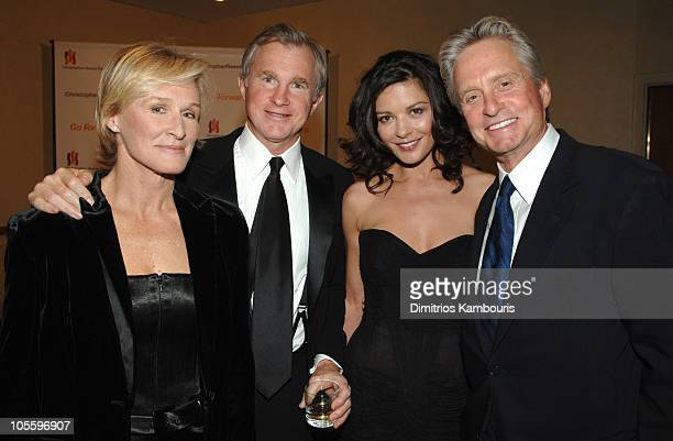 Glenn Close David Shaw Catherine ZetaJones and Michael Douglas