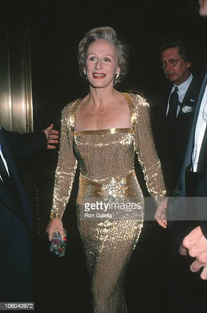 Glenn Close during Opening Night Party for Sunset Boulevard November 17 1994 at Rainbow Room in New York City New York United States