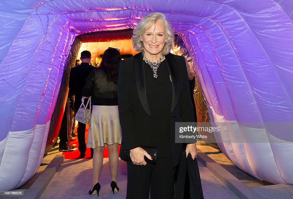Glenn Close poses for a photograph at NASA Ames Research Center on December 12, 2013 in Mountain View, California.