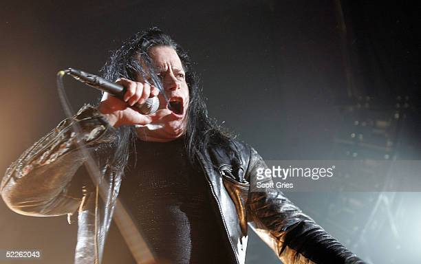 Glenn Danzig of punk band The Misfits performs onstage at Spirit March 1 2005 in New York City